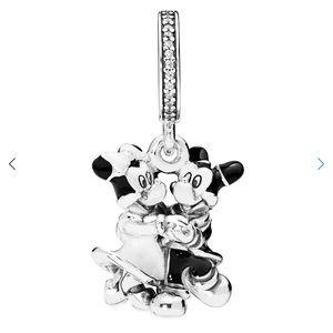 Pandora Mickey & Minnie Mouse Dangle Charm Disney